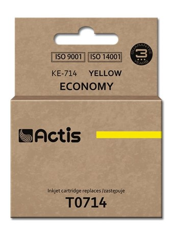 ACS KE-714 Zamiennik:T0714 Tusz Yellow do drukarek Epson