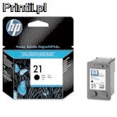 HP OEM:C9351AE no21 Tusz Black do drukarek HP