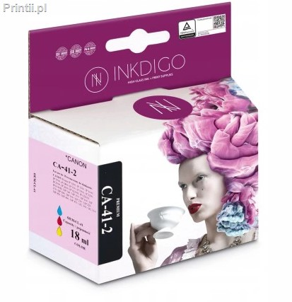 INK CA-41 Zamiennik:CL-41 Tusz Color do drukarek Canon